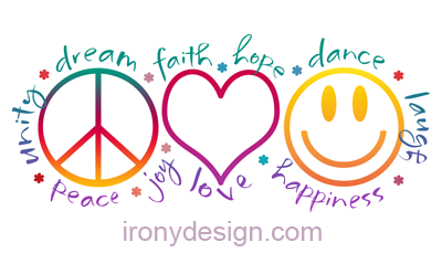 peace love laugh irony design fun shop humorous